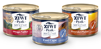 ZIWI Peak Provenance range - canned food