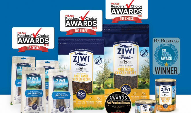 Ziwi's Newest Products Win Multiple Pet Industry Awards - primary image