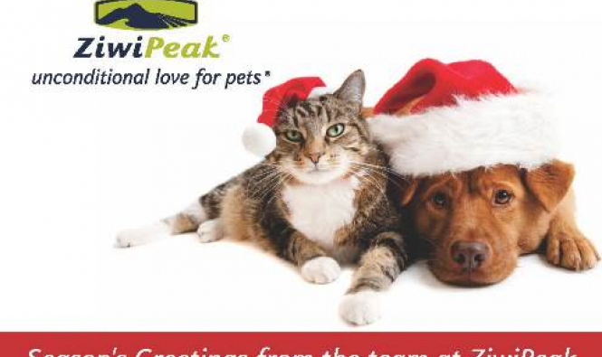 Seasons Greeting! Welcome to the December, holiday edition of Paw Prints. - primary image