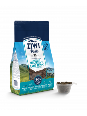 ZIWI Peak Air-Dried Mackerel & Lamb For Dogs 4kg