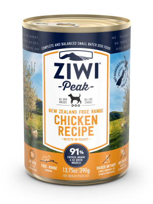 Ziwi Peak Chicken Dog Can 390g