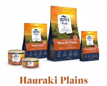 ZIWIs's Hauraki Plains Provenance Range of Dog and Cat food with 5 meats and fish
