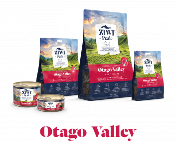 ZIWI®'s Otago Valley Provenance Range of Dog and Cat food products with 5 meats and fish