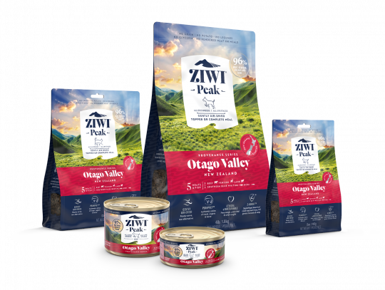 Ziwi Provenance Range - Provenance Family of Cat and Dog Food- Otago Valley